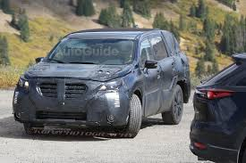 subaru tribeca 2016 2019 subaru tribeca replacement spied for the first time