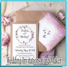 invitations maker wedding invitations card maker android apps on play