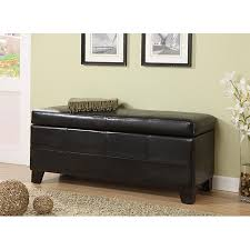 Leather Storage Bench Seat Leather Storage Bench Plus Small Storage Ottoman Plus Leather