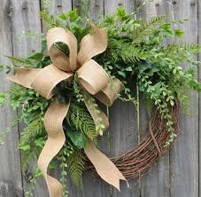 Springtime Wreaths Greenery Wreath Wreath Great For All Year Round Everyday