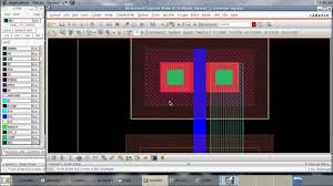 free cmos layout design software cadence tutorial cmos inverter layout youtube