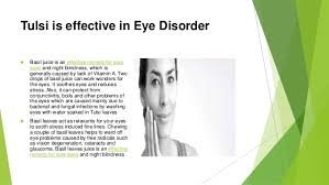 Cure For Night Blindness Amazing Benefits Of Tulsi A Lecture By Mr Allah Dad Khan Former Dg A U2026