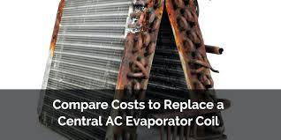 how much does it cost to replace a tail light how much does it cost to replace an evaporator coil compare costs a