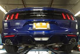 mustang exhaust steeda s550 mustang fastback gt axle back exhaust system 15 17 gt