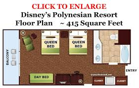 accommodations at disney u0027s polynesian village resort