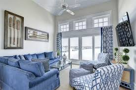 Traditional Family Room With Carpet  French Doors In Stone Harbor - Family room carpet