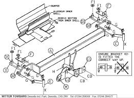 wiring diagram for towbar electrics wiring schematics and wiring
