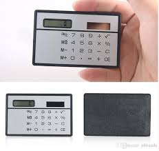 travel calculator images 2018 slim credit card solar power pocket mini calculator novelty jpg