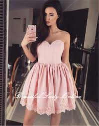 light pink short dress light pink short prom dresses sweetheart knee length corset