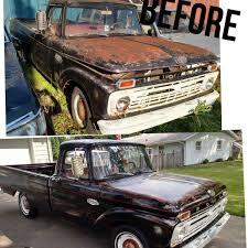 Vintage Ford Truck Salvage Yards - our u002766 ford f100 from junk yard to beauty keeping 50 years of