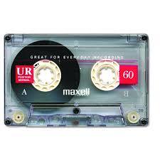 maxell cassette dictation audio cassette normal bias 60 minutes
