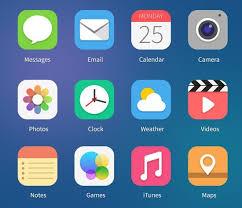 free ios 7 beta 2 app icons psd titanui