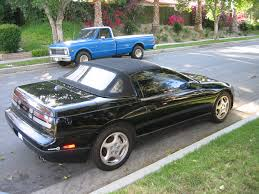 nissan convertible hardtop z car blog nissan 300zx z32 convertible