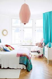 colorful bedroom curtains 3 tips and 30 ideas to refresh your bedroom digsdigs