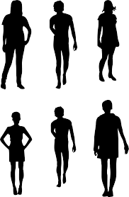 party silhouette silhouette of person free download clip art free clip art on