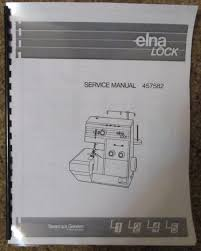 elna lock l1 l2 l4 l5 serger overlock adjusters service repair