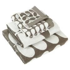buy orla kiely stem jacquard towel grey amara