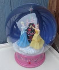 light up snow globe disney cinderella belle christmas musical light up snow globe 12