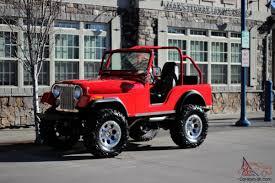 custom jeep red cj5 350 chevy custom show jeep 4x4
