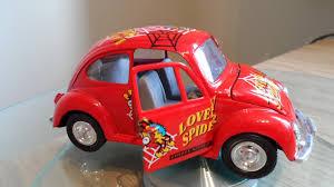 car volkswagen beetle red toy car vw volkswagen beetle lovely spider design friction