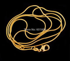 pattern gold necklace images Shuangr 2014 1pc gold color 1 2 mm elegant pattern snake chain jpg