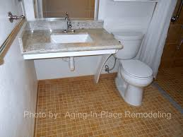 Handicap Accessible Bathroom Designs by Wheelchair Accessible Sinks Stay Home Instead