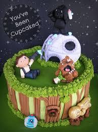 galactic cartoon cakes star wars birthday cake