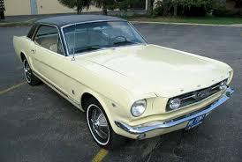 1965 yellow mustang 1966 mustang gt