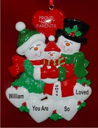 christmas ornaments baby new parents welcome to our family ornament