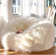 toddler rabbit fur bean bag chair 100 polyester soft and cuddly