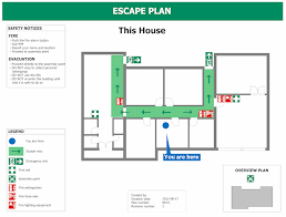 fire exit floor plan template home emergency plan template paso evolist co