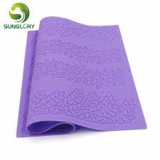 silicone baking mat leaf sugar lace mold fondant moulds leaves