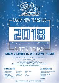 great escape new year s buffet play family vancouver