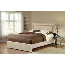 hillsdale lawler upholstered low profile bed hayneedle