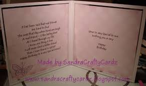 birthday card for best friend sandracraftycardz best friends birthday card for tomorrow