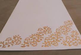 brown writing paper writing paper sets oakbazaar gold embossed writing paper set
