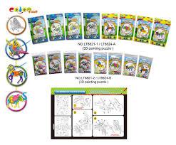 3d paper puzzle mixing paint color jigsaw puzzle games diy