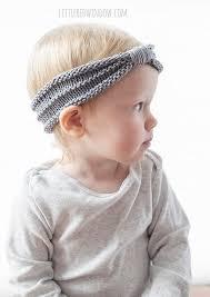 baby headband sweet baby headband knitting pattern window