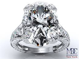 large diamond rings journey engagement rings from mdc diamonds nyc