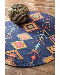 Navy Area Rugs Save Your Pennies Deals On Nuloom Bohemian Moroccan Diamond Navy
