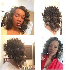 crochet weave with deep wave hairstyles for women over 50 deep wave bob hairstyles 42lions com
