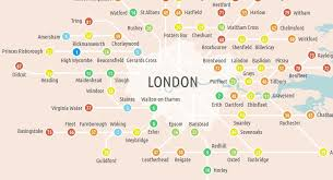 Commute Map If You Can U0027t Afford London Try Living In These Commuter Towns