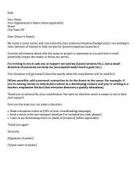 Business Letter Template Download donation request letters asking for donations made easy letter