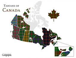 Canadian Flag 1960 Discover Canada U0027s Regional Tartans Canadian Geographic