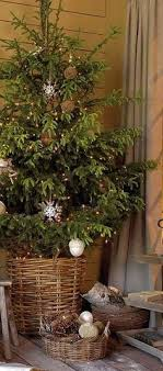 basket for tree season holidays