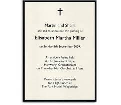 Funeral Service Invitation Funeral Invitation Template Elegant Photo Template Memorial