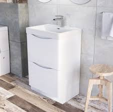 600 Vanity Unit Easy Bathrooms Erin Floor Standing 600 Vanity Unit U0026 Basin White
