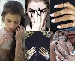 cool girl rings images Benchpeg knuckling down the look midi rings jpg