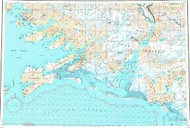 Alaska Topo Maps by Download Topographic Map In Area Of Eyak Tatitlek Cordova