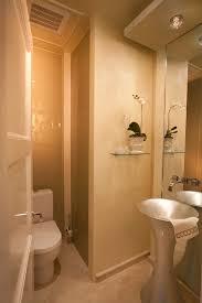 Powder Room With Pedestal Sink Modern Pedestal Sink Powder Room Contemporary With Architecture